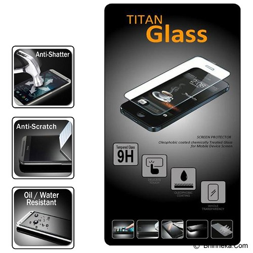 TITAN Premium Tempered Glass for Apple iPhone 6 Plus - Screen Protector Handphone