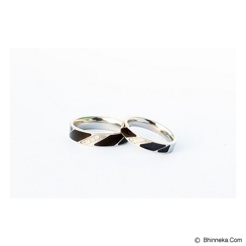 TITANIUM Cincin Couple Size 5(W) & 7(M) [CC004] - Cincin