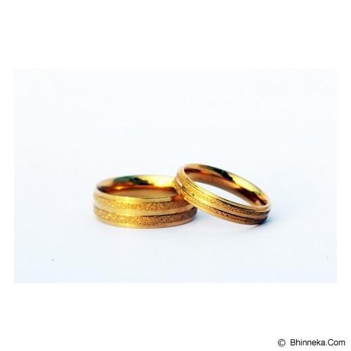 TITANIUM Cincin Couple Size 5(W) & 9(M) [CC033] - Cincin