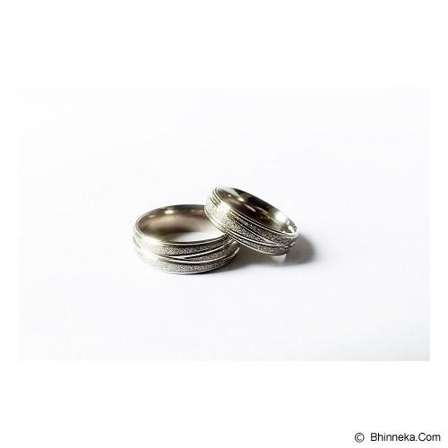 TITANIUM Cincin Couple Size 5(W) & 9(M) [CC041] - Cincin