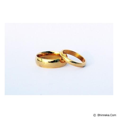 TITANIUM Cincin Couple Size 6(W) & 7(M) [CC025] - Cincin