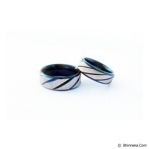 TITANIUM Cincin Couple Size 6(W) & 7(M) [CC053] - Cincin