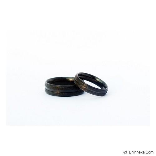TITANIUM Cincin Couple Size 6(W) & 8(M) [CC021] - Cincin