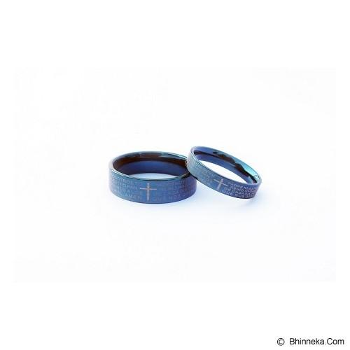 TITANIUM Cincin Couple Size 6(W) & 8(M) [CC047] - Cincin