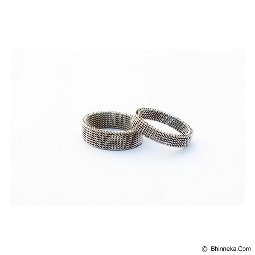 TITANIUM Cincin Couple Size 6(W) & 8(M) [CC048] - Cincin