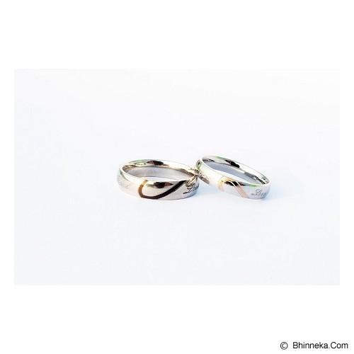 TITANIUM Cincin Couple Size 7(W) & 7(M) [CC003] - Cincin