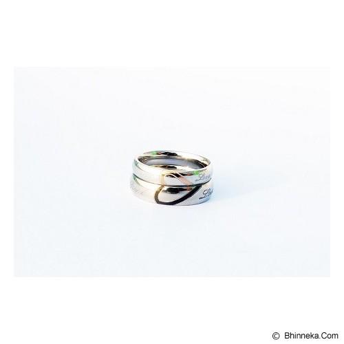 TITANIUM Cincin Couple Size 7(W) & 8(M) [CC003] - Cincin