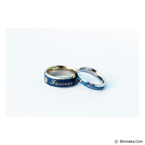 TITANIUM Cincin Couple Size 7(W) & 8(M) [CC006] - Cincin