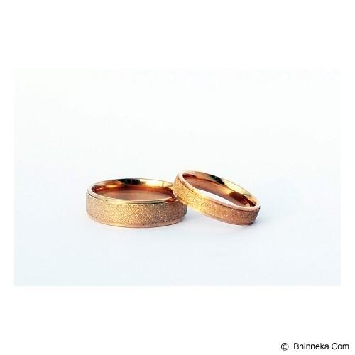 TITANIUM Cincin Couple Size 7(W) & 8(M) [CC017] - Cincin