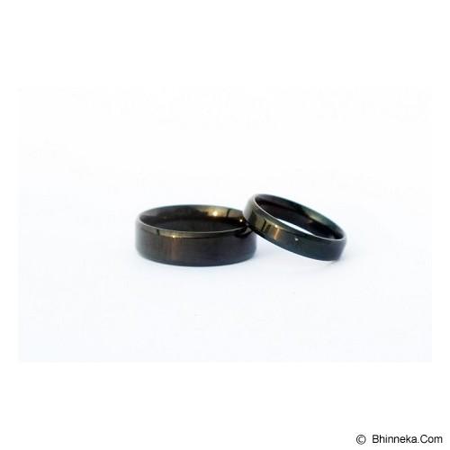 TITANIUM Cincin Couple Size 7(W) & 8(M) [CC018] - Cincin