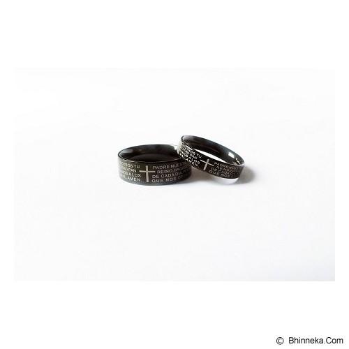TITANIUM Cincin Couple Size 7(W) & 8(M) [CC043] - Cincin