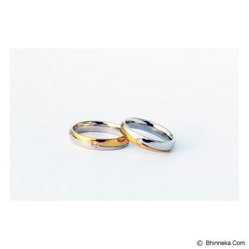 TITANIUM Cincin Couple Size 7(W) & 9(M) [CC008] - Cincin