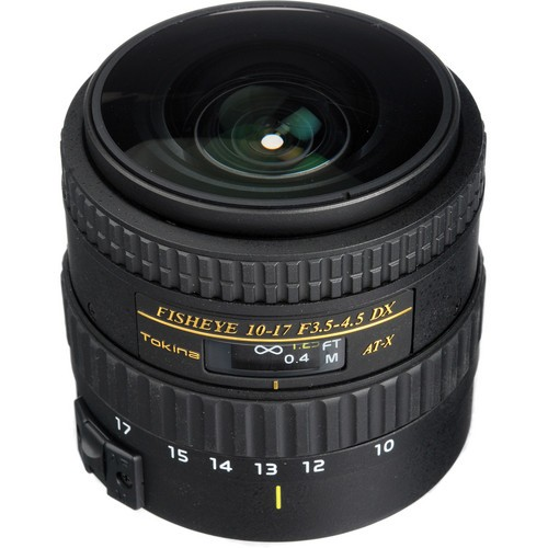 TOKINA 10-17mm f/3.5-4.5 AT-X AF NH for Canon