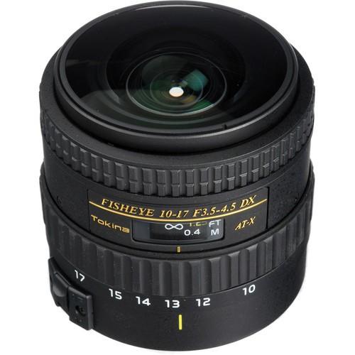 TOKINA 10-17mm f/3.5-4.5 AT-X AF NH for Canon - Camera SLR Lens