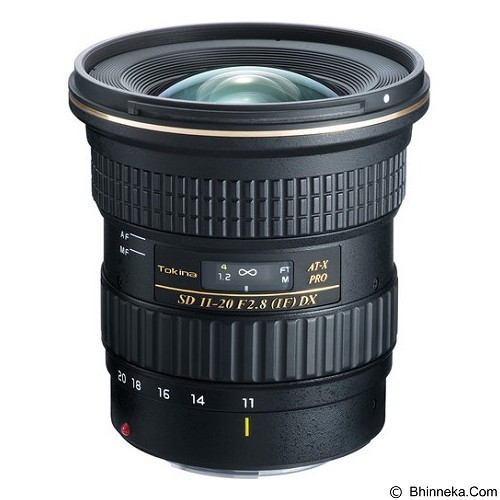 TOKINA 11-20mm f/2.8 PRO DX Lens for Canon - Camera Slr Lens