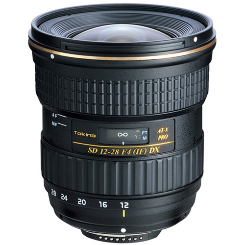TOKINA 12-28mm f/4.0 AT-X Pro APS-C for Canon - Camera Slr Lens