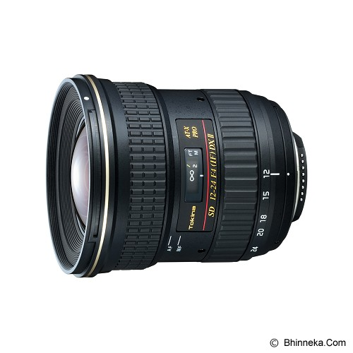 harga TOKINA AT-X 12-24mm f/4 AF Pro DX II for Canon Bhinneka.Com