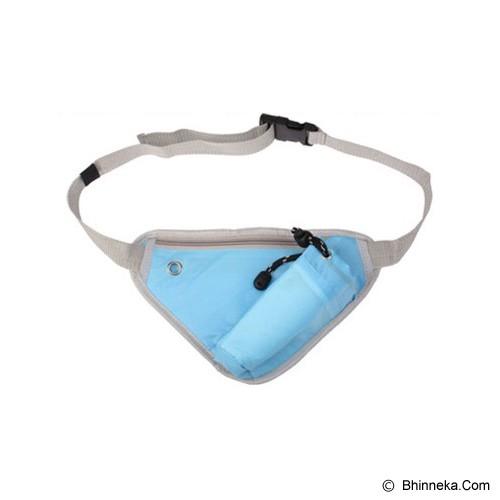 TOKO BAGUS INDO Multifunction Sport Bag - Blue - Tas Pinggang/Travel Waist Bag