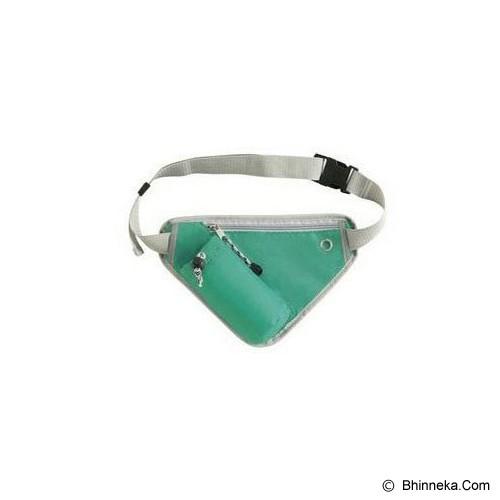 TOKO BAGUS INDO Multifunction Sport Bag - Green - Tas Pinggang/Travel Waist Bag