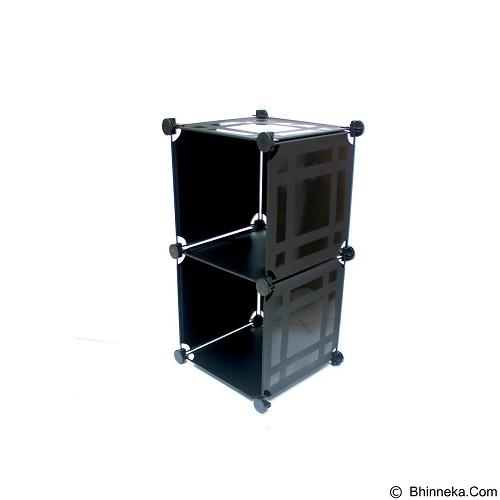 TOKO KADO UNIK Home Space - 2 Cube Organizer - Rak Sepatu