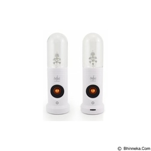 TOKO KADO UNIK Magic Plasma Speaker Lampu Sulap - White - Speaker Bluetooth & Wireless