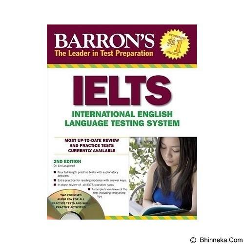 TOKO WEMI Barron's IELTS 2nd edition + CD (Merchant) - Buku Soal Latihan TOEFL & IELTS