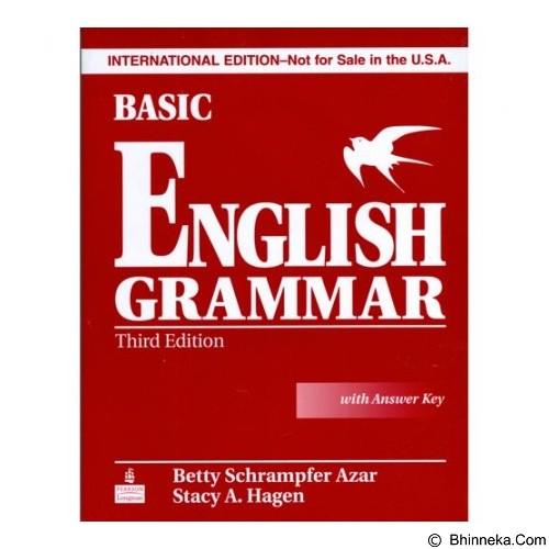 TOKO WEMI Basic English Grammar - Betty Schrampfer Azar (Merchant) - Kamus Bahasa