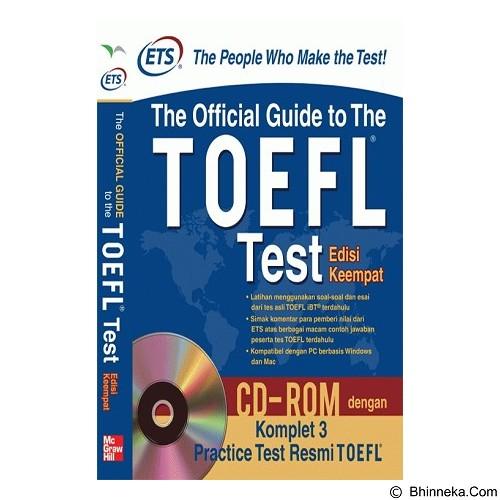 TOKO WEMI ETS The Official Guide for The TOEFL Test Edisi Keempat with CD (Merchant) - Buku Soal Latihan TOEFL & IELTS