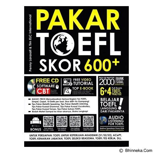 TOKO WEMI Pakar TOEFL Skor 600+ (Merchant) - Craft and Hobby Book