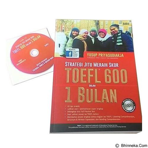 TOKO WEMI Strategi Jitu Meraih Skor TOEFL 600 dalam 1 Bulan (Merchant) - Buku Soal Latihan TOEFL & IELTS