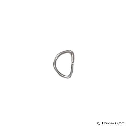 TOKOALATJAHIT Ring D 1cm - Nikel - Ring Jahit