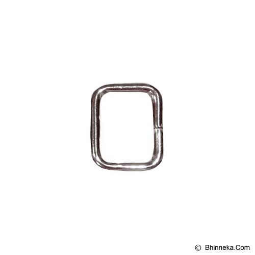 TOKOALATJAHIT Ring Kotak 2.5cm - Nikel - Ring Jahit