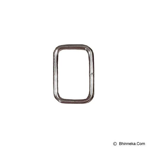 TOKOALATJAHIT Ring Kotak 3cm - Nikel - Ring Jahit