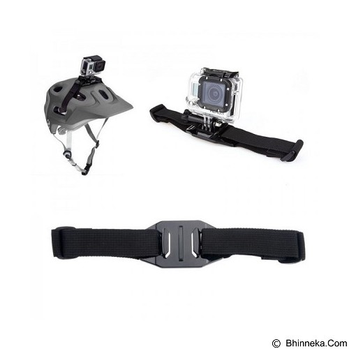 TOKOCAMZONE GP04 Vented Helmet Strap Mount For GoPro - Camcorder Mounting