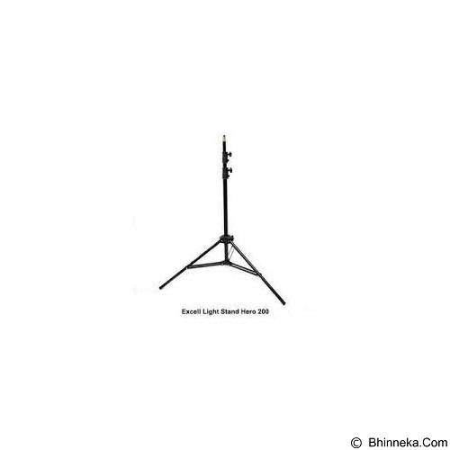 TOKOCAMZONE Lightstand Excell Hero 200 (Merchant) - Lightstand and Boom