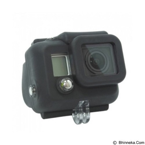 TOKOCAMZONE Silicon Case For Gopro [GP98] - Black (Merchant) - Camcorder Lens Cap and Housing Protection