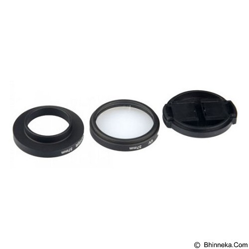TOKOCAMZONE UV Filter Lens 37mm With Cap for GoPro [GP242] (Merchant) - Filter Uv dan Protector