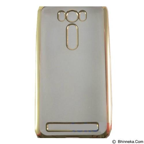 TOKOTK Casing Softshell List Chrome for Asus Zenfone Laser 5 ZE500KL - Gold (Merchant) - Casing Handphone / Case