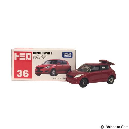 TAKARA TOMY Tomica Reguler 36 Suzuki Swift (Merchant) - Die Cast