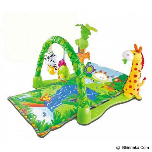 TOMINDO Baby Gift Rainforest - Gym and Playmate for Baby / Kids