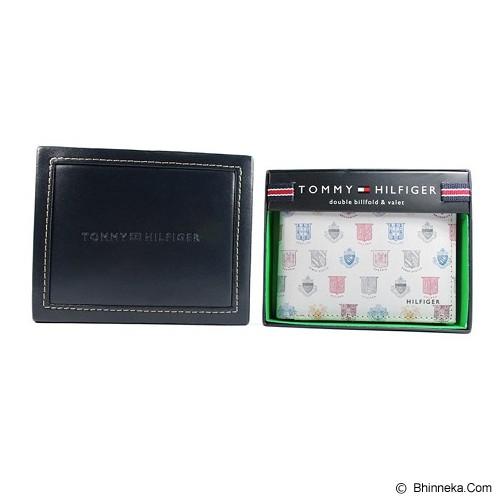 TOMMY HILFIGER Men's Shield Double Billfold Wallet - Dompet Pria