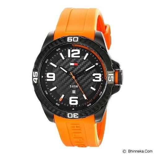 TOMMY HILFIGER Watch [1791088] - Orange/Hitam - Jam Tangan Pria Fashion