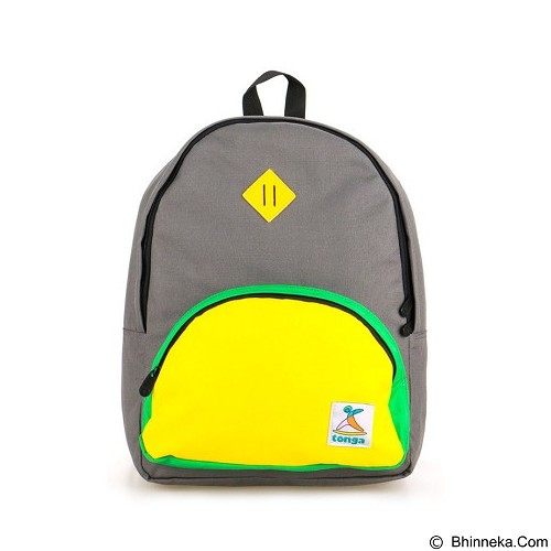 TONGA Tas Ransel Casual [31AK012508] - Grey Yellow (Merchant) - Backpack Wanita