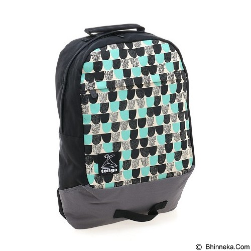 TONGA Tas Ransel Laptop 14 Inch [31HA003506] - Black Gray (Merchant) - Notebook Backpack