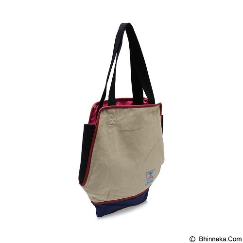 TONGA Totebag Wanita [KNV019CO] - Brown (Merchant) - Tote Bag Wanita