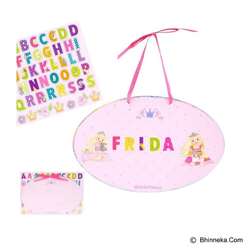 TOP MODEL Princess Mimi's Door Sign to Stick [TM 8321] - Wall Art / Hiasan Dinding