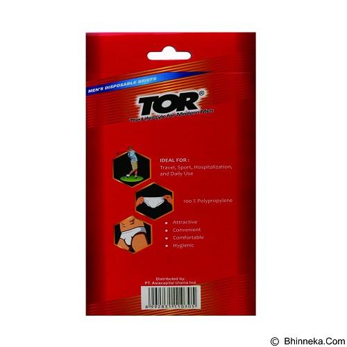 TOR Men's Disposable Briefs Size L [TNWF03BNK] (Merchant) - Celana Dalam Pria