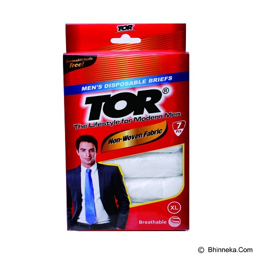 TOR Men's Disposable Briefs Size XL [TNWF04BNK] (Merchant) - Celana Dalam Pria