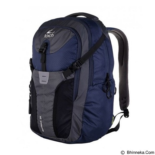 TORCH Bordeaux 2.9 - Navy Grey (Merchant) - Notebook Backpack
