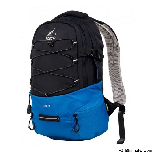 TORCH Flap 1.9 - Black Blue (Merchant) - Notebook Backpack